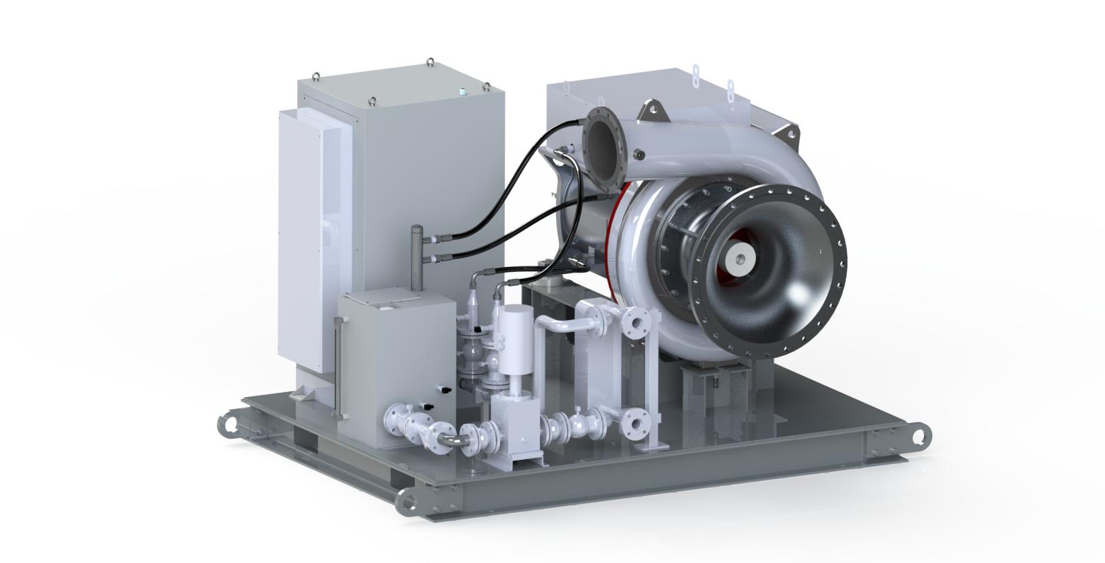 磁懸浮透平真空泵,真空泵,億昇科技